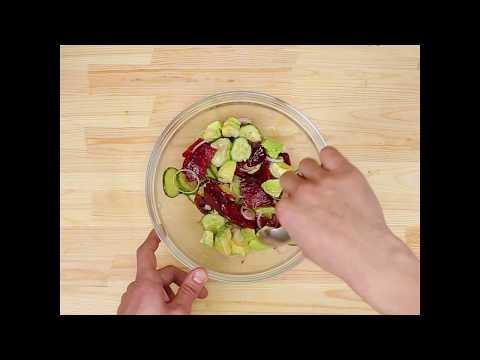 Салат из свеклы с апельсинами. Рецепт с фото /