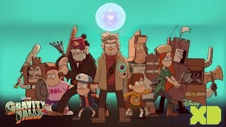 Dungeons, Dungeons, and More Dungeons Phil Te Guía Al #Weirdmageddon Anomalía N° 33 #GravityFalls