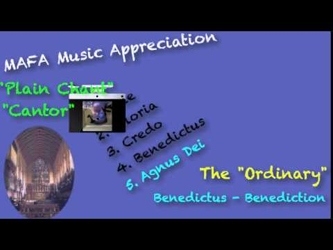 Music Appreciation Medieval Period