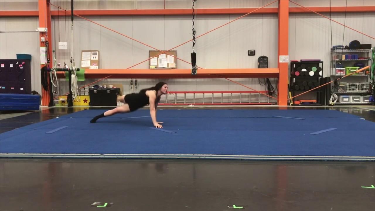 Rachel Rees - Aerial and Acrobatic Demo