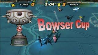 Super Mario Strikers Bowser Cup LEGEND (480p) Golden Cup