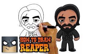 How to Draw Fortnite | John Wick
