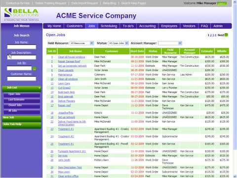 Service Management Software - Overview
