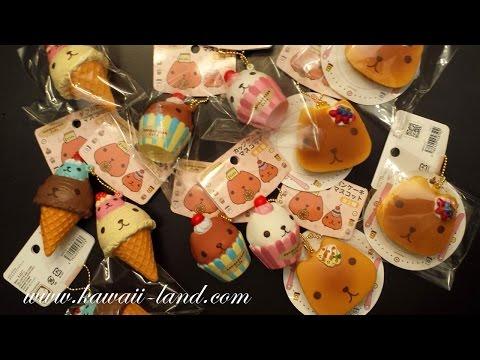 Ibloom Squishy Haul : Kawaii Shop Update ~ iBloom Squishy !! FunnyCat.TV