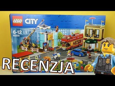 LEGO City Stolica 60200 / RECENZJA