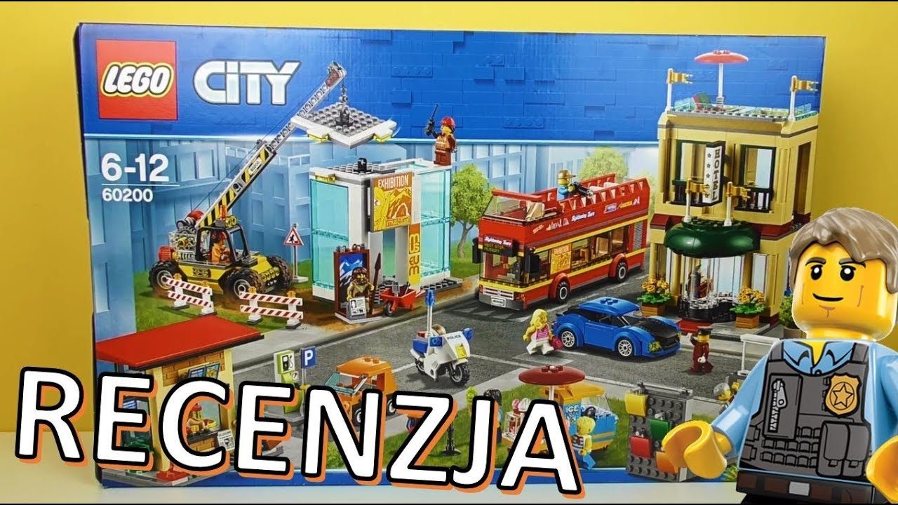 Lego City Stolica 60200 Recenzja Youtube