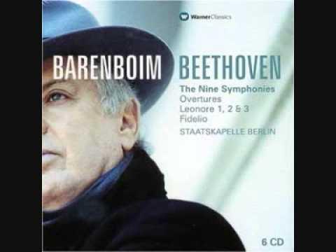 Daniel Barenboim - Beethoven   Symphony No  3   Mov  I