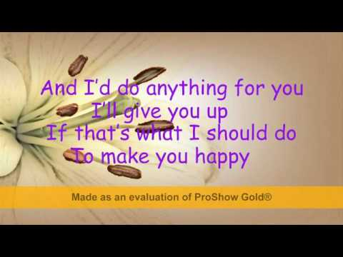 Gloria Estefan- Anything for You lyrics