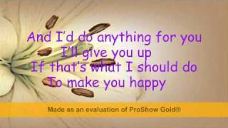 Gloria Estefan- Anything for You lyrics