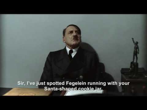 Hitler is informed his Christmas cookies have been stolen