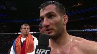 UFC 210: Gegard Mousasi and Chris Weidman Octagon Interviews