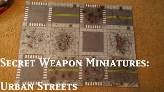 Secret Weapon Miniatures Tablescapes: Urban Streets Damaged