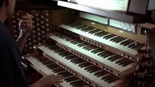 HD Ave Verum Corpus - Mozart  K618 - . 5.1 Dolby - John Hong Organ Solo - Organ Transcription