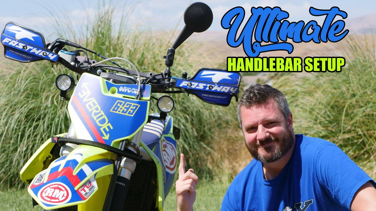 This is My ULTIMATE Dirt Bike Handlebar Setup!
