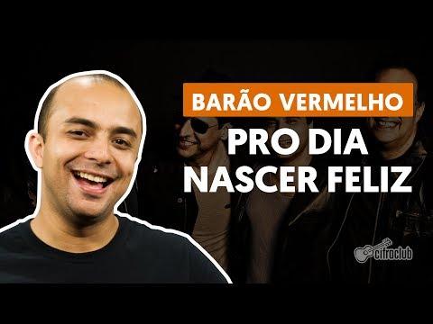 PRO DIA NASCER FELIZ - Barão Vermelho (aula de bateria)