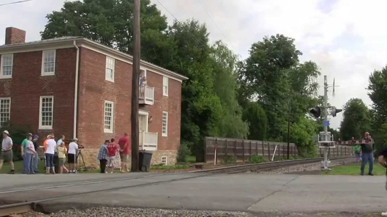N&W 611 Manassas to Front Royal 6-7-2015 - YouTube
