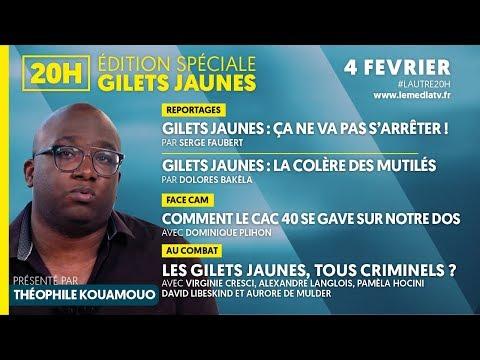 SPÉCIALE GILETS JAUNES : ACTE XII, LA COLÈRE DES MUTILÉS, LE CAC 40 SE GAVE, TOUS CRIMINELS ?