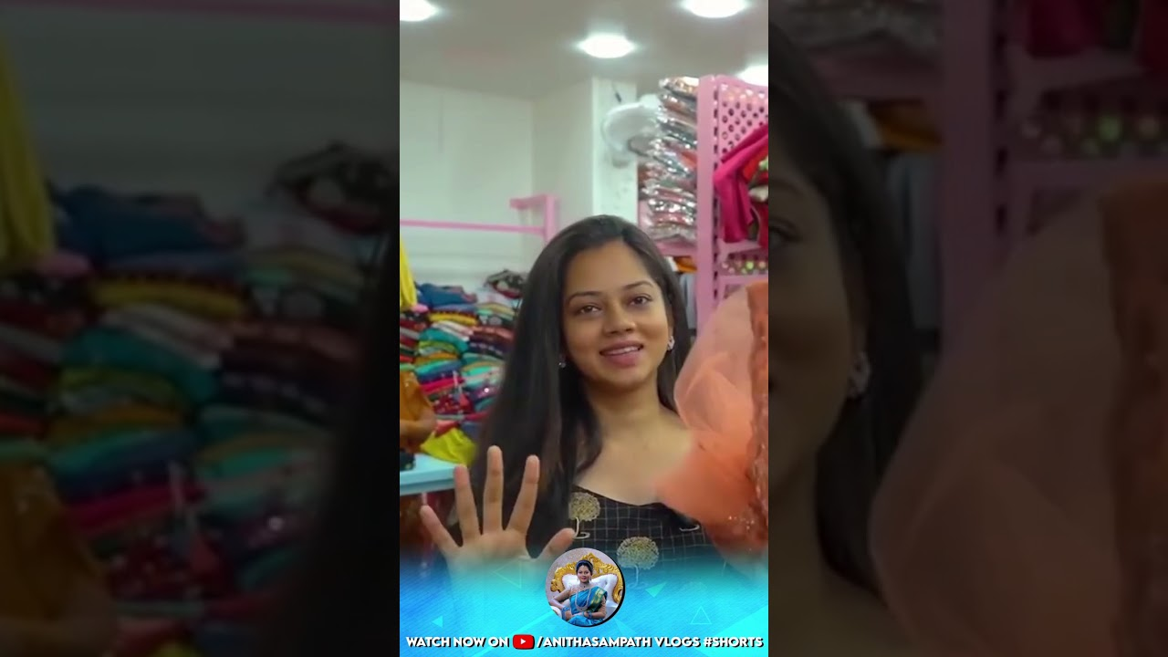 Shopping Vlog At Vannarapet | Anithasampath Vlogs #Shorts