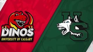 FB HIGHLIGHTS | Dinos vs Saskatchewan, 82nd Hardy Cup, Nov. 10, 2018