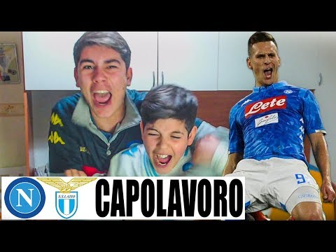 CAPOLAVORO! NAPOLI LAZIO 2-1 | LIVE REACTION NAPOLETANI