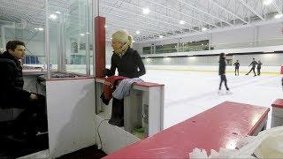 She dances on ice with Scott Moir, I'm jealous. Gone bad  [[ Clickbait ]] ;P
