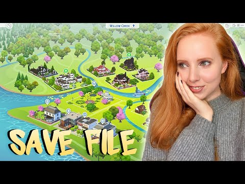 I Rebuilt Every World In The Sims 4... Almost (save File)