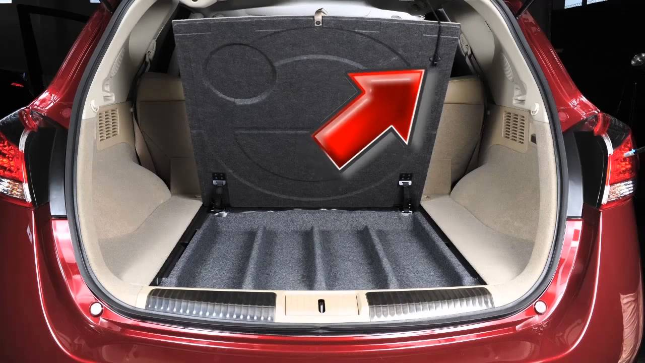 2014 Nissan Murano - Spare Tire and Tools (Hardtop Models ...