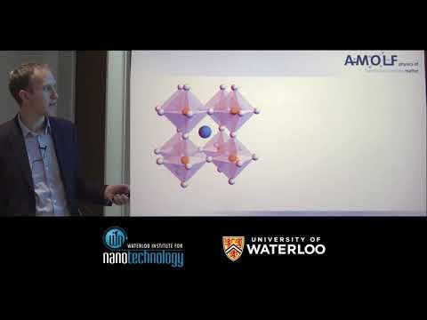 Dr. Bruno Ehrler - Waterloo Institute for Nanotechnology (WIN) Seminar