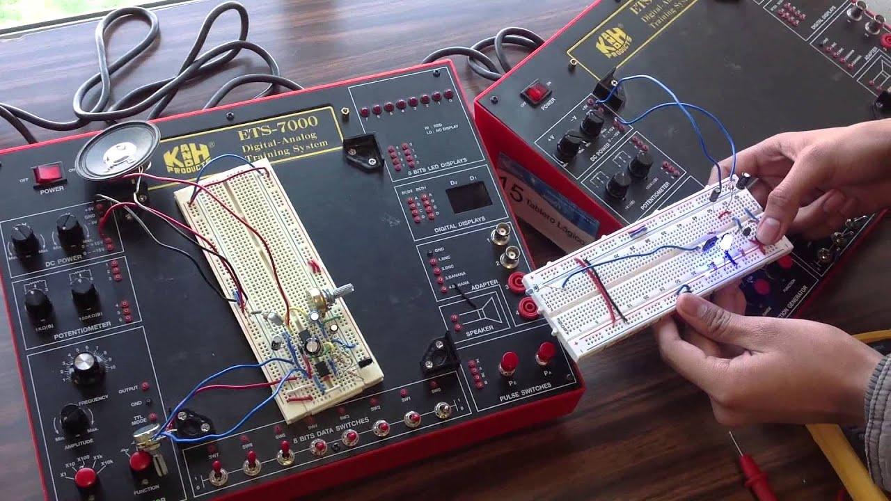 Circuito Emisor Receptor : Emisor receptor de audio por infrarrojo youtube