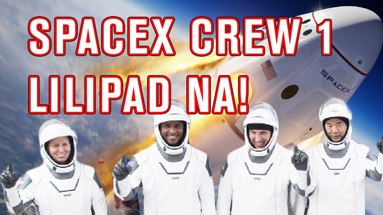 SpaceX CREW 1 Lilipad na Papuntang ISS (Tagalog)   Madam Info