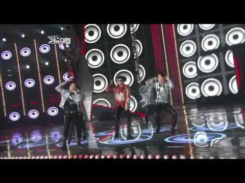 2011 SBS가요대전 2PM[Hands Up](2부)