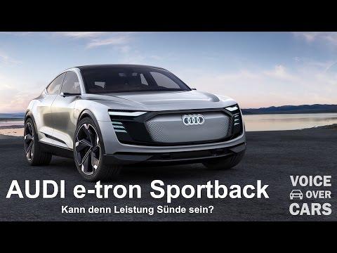 Audi e-tron Sportback Concept Shanghai 2017 Voice over Cars