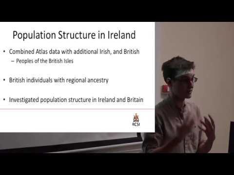 Update on the Irish DNA Atlas: Ed Gilbert, Ph.d student, RCSI