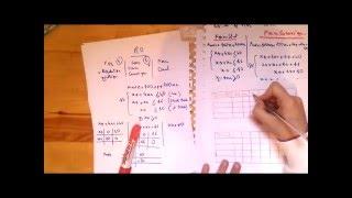 programmation linéaire , ( sous forme canonique , standard +  dual ) darija