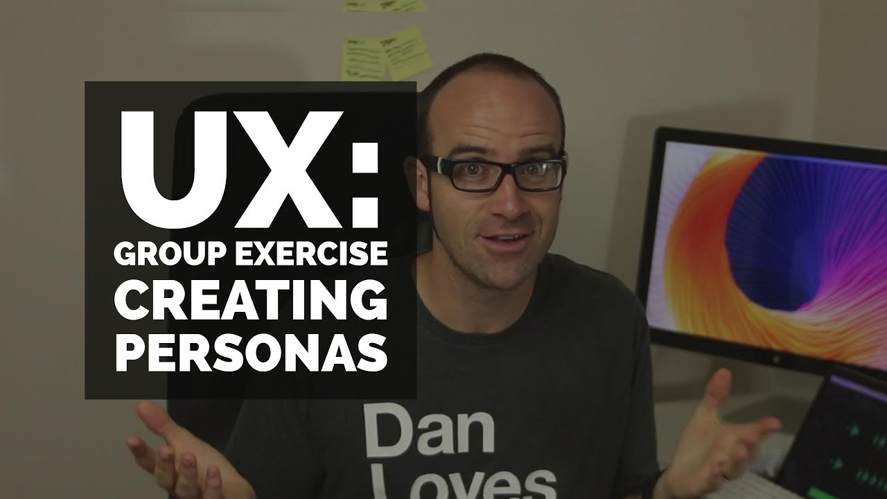 Group exercise Creating Personas - UX design course [11/29]