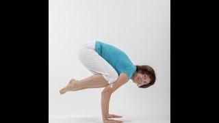 Видео уроки Открытой йоги. Бакасана. Поза скрученной стойки на руках.