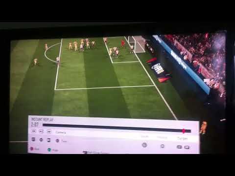 Fantastic volley from dani Alves (FIFA 18)