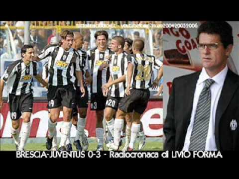 Brescia-Juventus 0-3 – Radiocronaca di Livio Forma (12/9/2004) da Tutto il calcio minuto per minuto