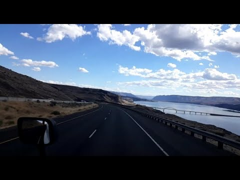 BigRigTravels LIVE! Post Falls, Idaho to Ellensburg, Washington Interstate 90 West-Sept. 13, 2018
