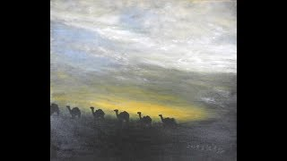 江革姃畫展作品  江革姃「人間彩漾 天使築夢」油畫個展