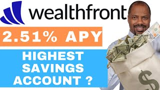 Wealthfront 2.51% APY: BEST High Interest Yield Savings Account? (Review)