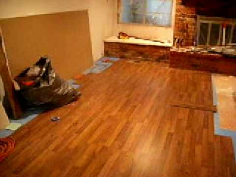 Laminate flooring installation before and after videos for Before and after flooring