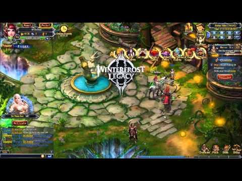 Winterfrost Legacy Gameplay -  Rpg, Mmorpg, Game Browser, Jogos, Jogos Online