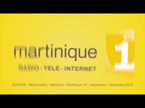 Spot TV : MARTINIQUE 1ère TV - Audience TV - Déc. 13