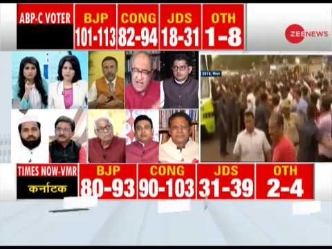Watch: Karnataka Assembly Elections 2018 Maha Exit Poll on Zee News