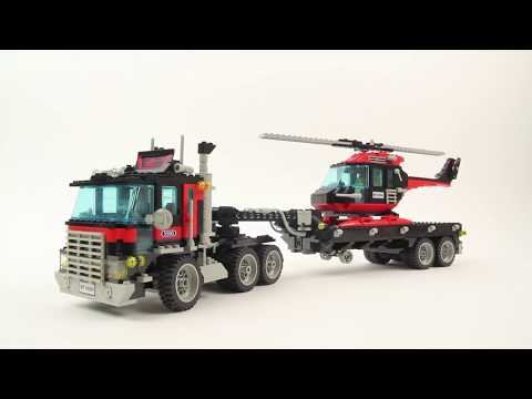 LEGO MODEL TEAM 5590 Whirl And Wheel Super Truck - Historical Set 1990 - Collection (14/16)