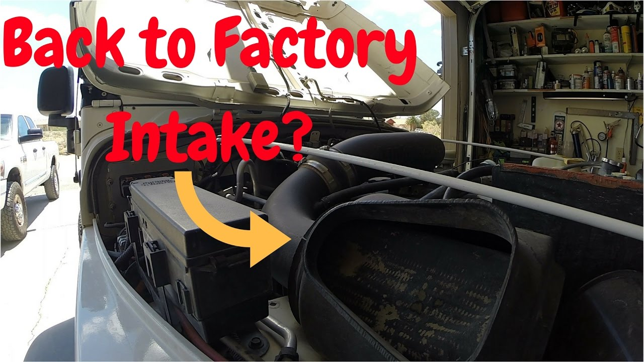 Jeep Tj 4 0 Banks Cold Air Intake Removal And Why