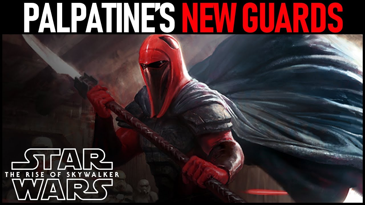 Palpatine S New Guards In The Rise Of Skywalker