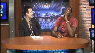 Dwight Howard in studio with David Baumann Nov. 2011