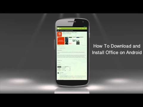 How To Download And Install MS Office App For Android Phone